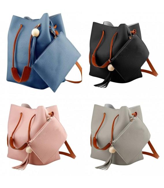 Utensilo - Bobbel bag - shoulder bag - imitation leather - image 1