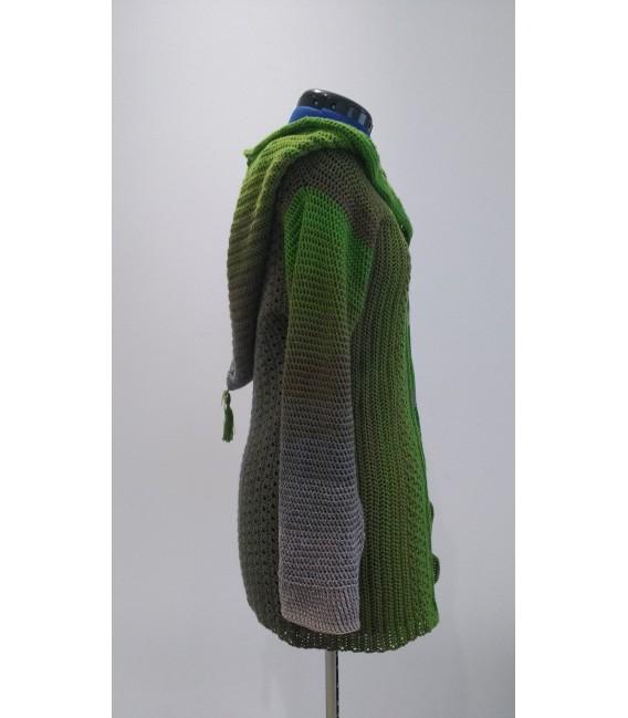 Barfuß im Moos (Barefoot in moss) - 4 ply gradient yarn - image 11