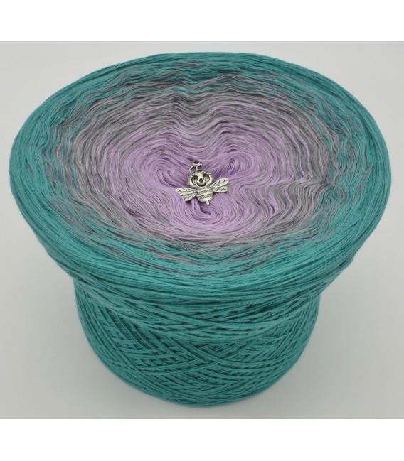 gradient yarn 4ply Zeit der Wunder - ocean green outside