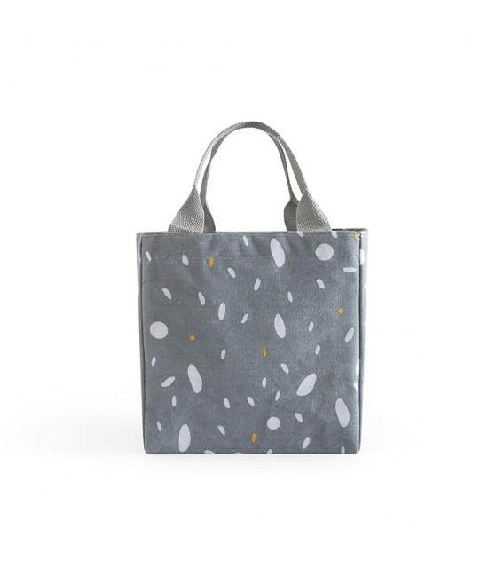 Utensilo - Bobbel bag retro square with drawstring - speckled  - image 4