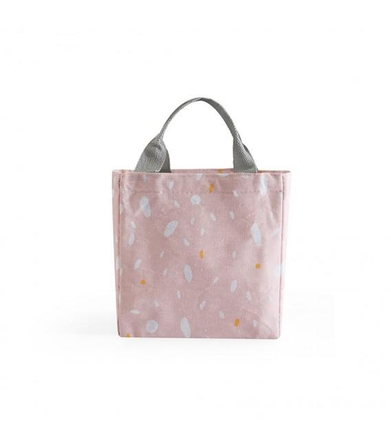Utensilo - Bobbel bag retro square with drawstring - speckled  - image 5