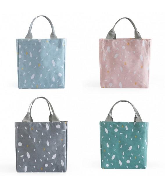 Utensilo - Bobbel bag retro square with drawstring - speckled  - image 1