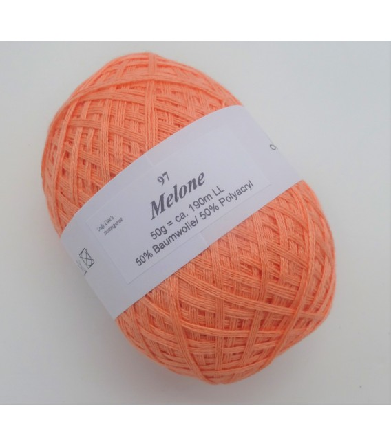 Lady Dee's Lace yarn - melon - image 1
