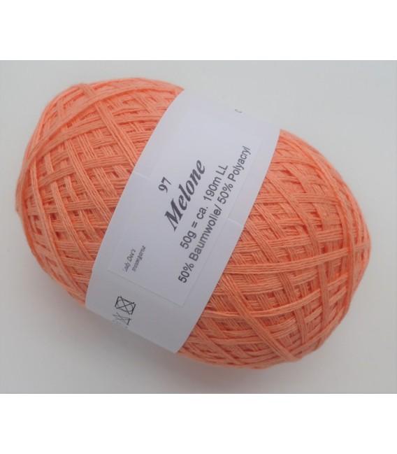 Lady Dee's Lace yarn - melon - image 2