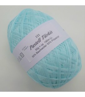 Lady Dee's Lace yarn - pastel turquoise - image 1