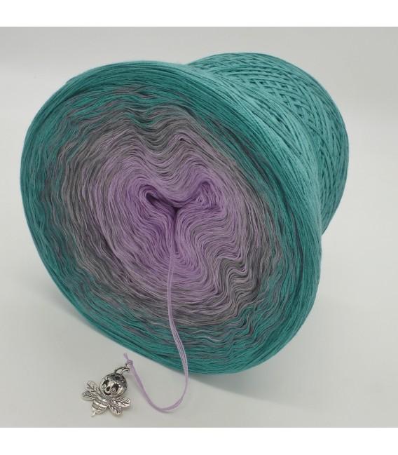 gradient yarn 4ply Zeit der Wunder - ocean green outside 4