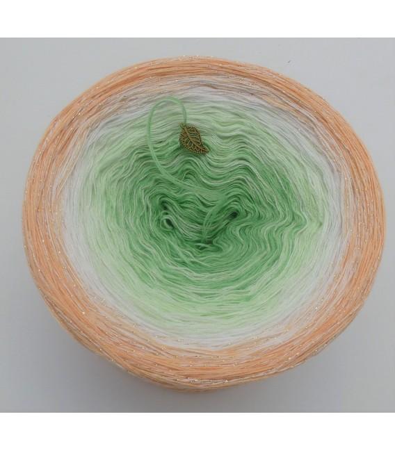 Januar (January) Bobbel 2020 with glitter - 4 ply gradient yarn - image 3