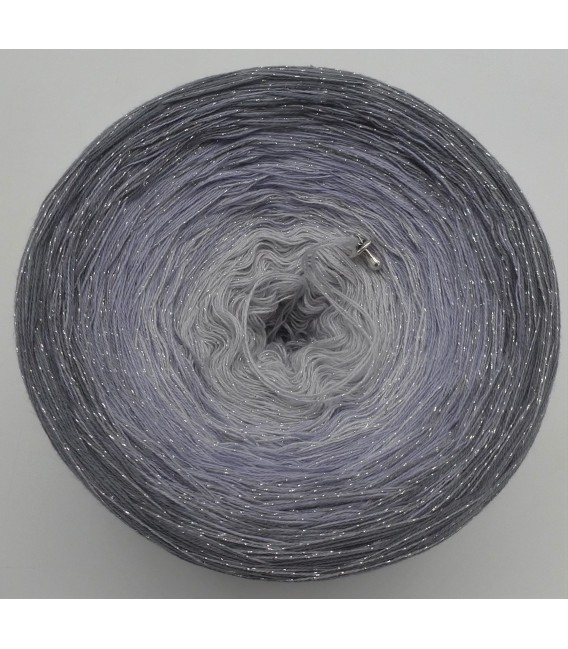 Silbermond with glitter (Silver Moon) - 3 ply gradient yarn - image 5