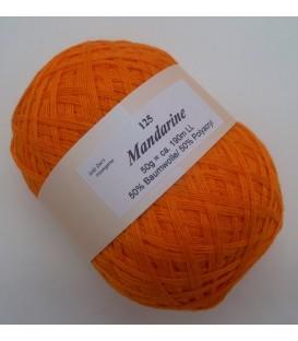 Lady Dee's Lace yarn - tangerine - image 1