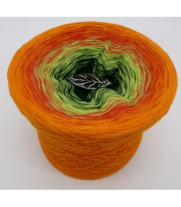 gradient yarn 4ply Goldener Herbst - Orange outside