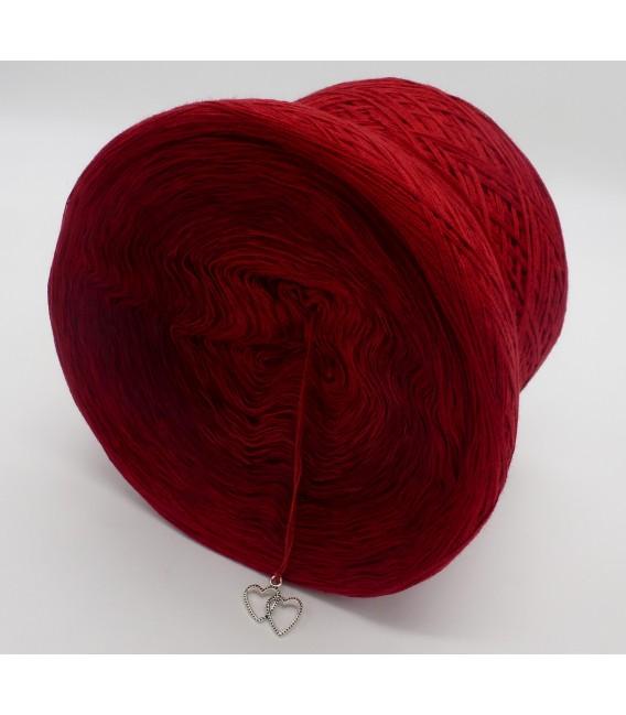 gradient yarn Flammen der Liebe - Burgundy outside 4
