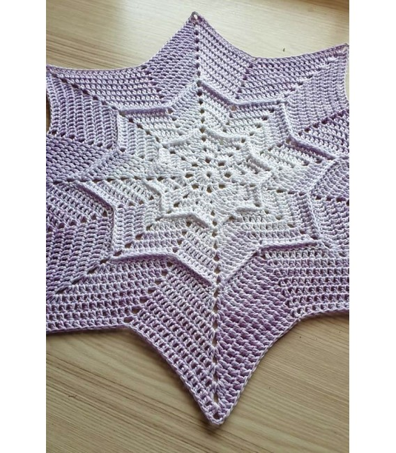 Sternchen der Träume (Asterisk of dreams) - 4 ply gradient yarn - image 5