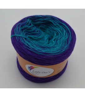 Sternchen der Farben (Asterisks of colors) - 4 ply gradient yarn - image 1