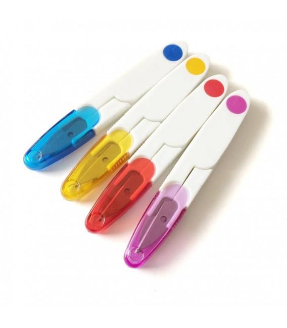 Резец Поперечные ножницы стежка с пластиковой ручкой - Фото 1