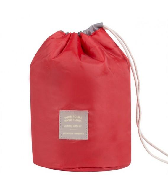 Организатор - круглый ретро сумка Bobbel с шнурком - один цвет - Фото 5