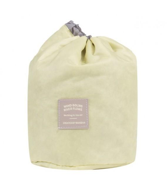 Организатор - круглый ретро сумка Bobbel с шнурком - один цвет - Фото 6