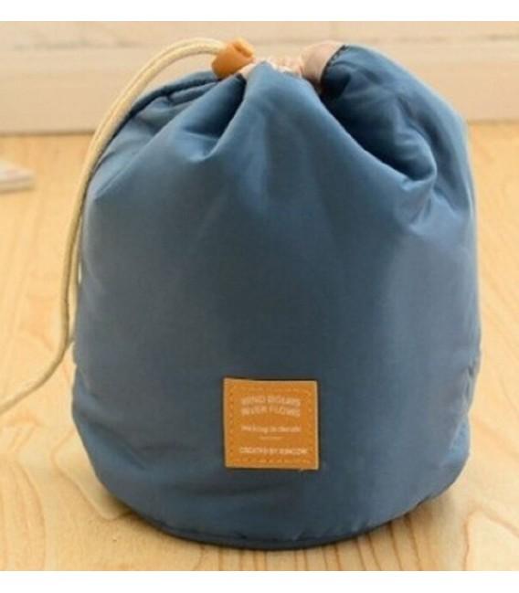 Организатор - круглый ретро сумка Bobbel с шнурком - один цвет - Фото 7