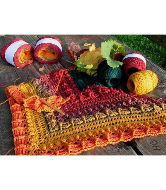 Herbstliche Impressionen (Autumnal impressions) - 4 ply gradient yarn - image 12