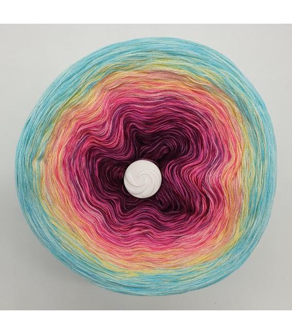 Oase im Paradies (Oasis in paradise) - 4 ply gradient yarn - image 3