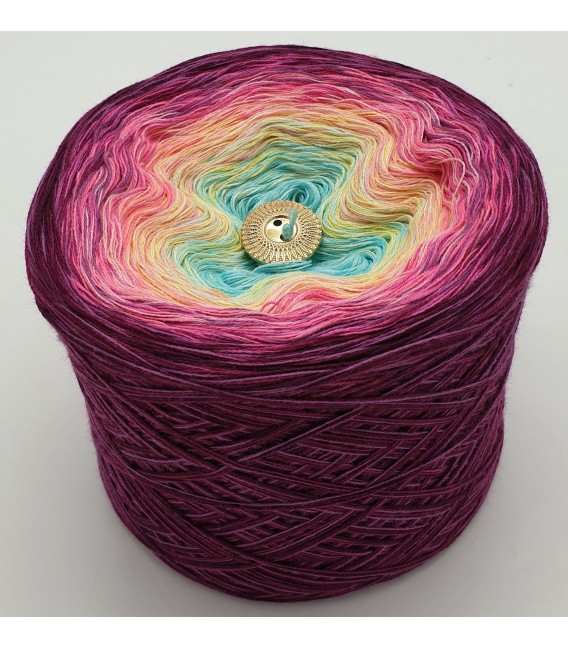 Oase im Paradies (Oasis in paradise) - 4 ply gradient yarn - image 5