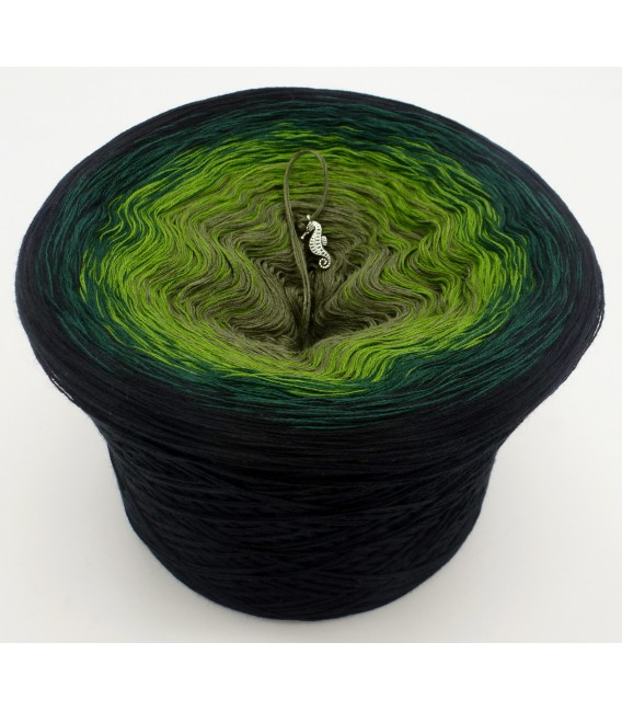 Green Shadow - 4 ply gradient yarn - image 1