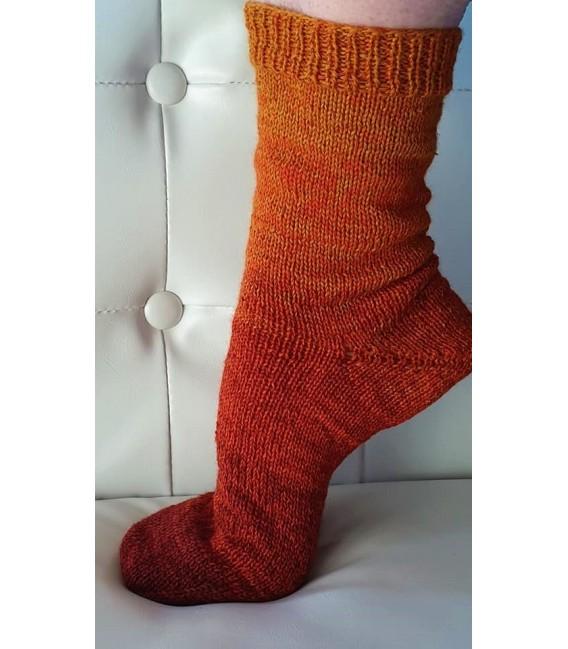 Sock wool - 2 Bobbel á 50g - 001 - gradient yarn - image 3