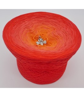 gradient yarn 4ply Endless Summer - cherry outside