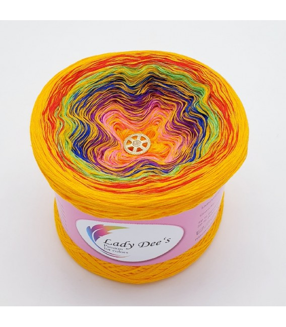 Crazy Oase 3 - 4 ply gradient yarn -  image 1