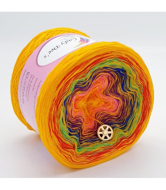 Crazy Oase 3 - 4 ply gradient yarn -  image 3