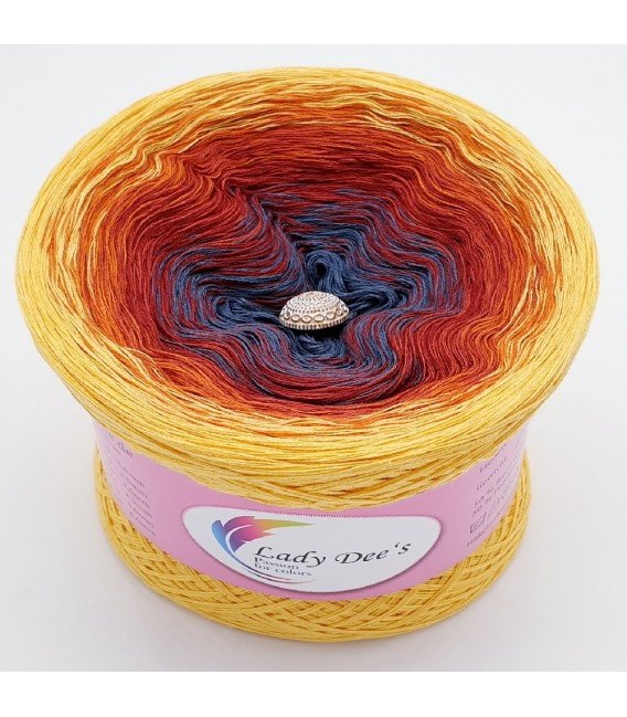 Oase der flammenden Liebe (Oasis of flaming love) - 4 ply gradient yarn -  image 2