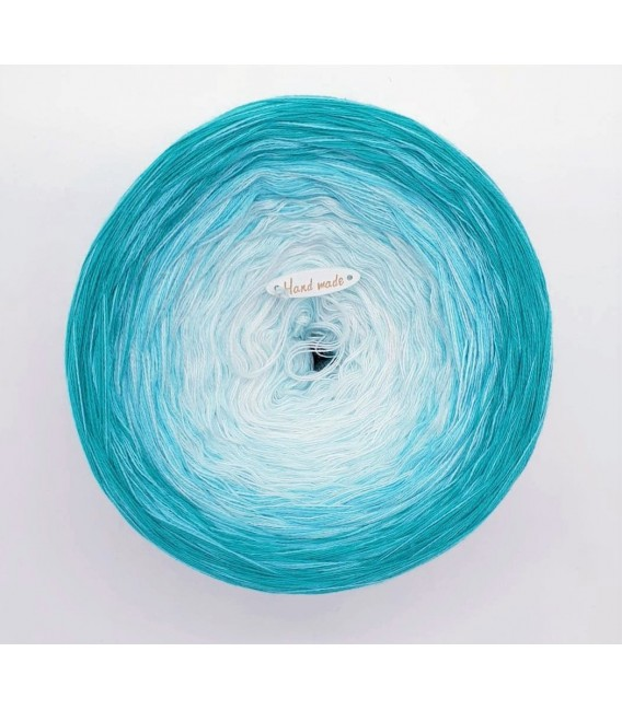 Swimming Pool - Farbverlaufsgarn 4-fädigLady Dee's Lacegarn - Malachit - Bild 3