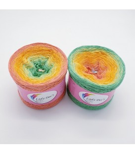 Oase im Spätsommer (Oasis in late summer) - 4 ply gradient yarn - image 1