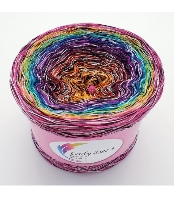 Crazy Oase 12 - Farbverlaufsgarn 4-fädig - Bild 1