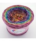 Crazy Oase 12 - Farbverlaufsgarn 4-fädig