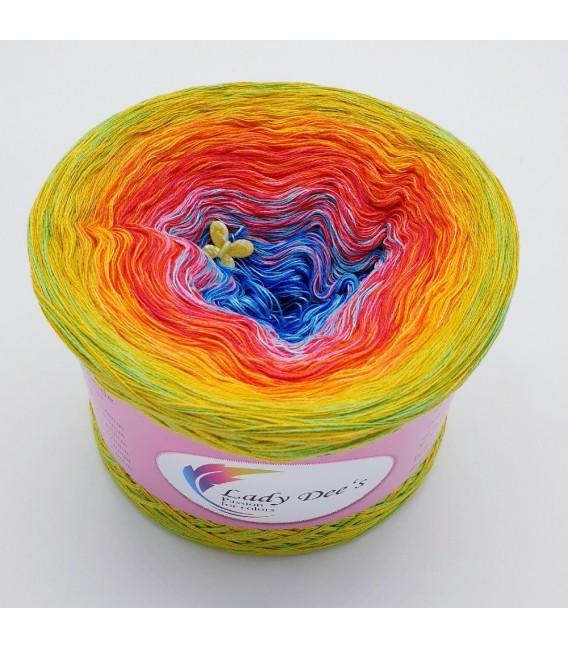 Flower Power Oase (Flower power oasis) - 4 ply gradient yarn - image 2