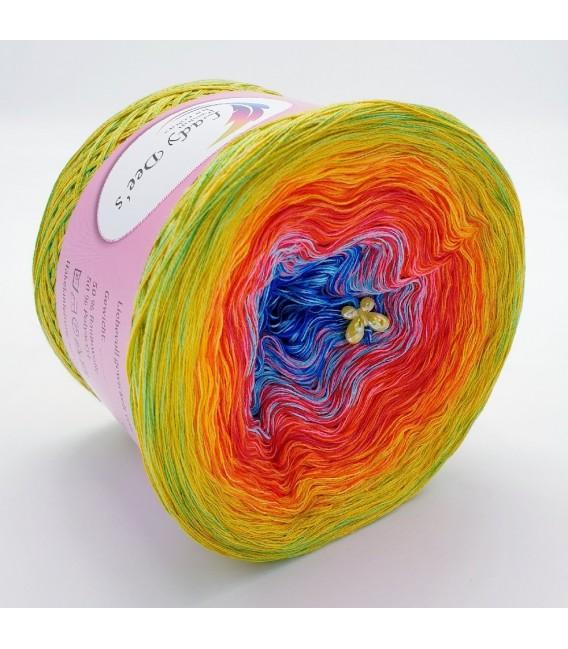 Flower Power Oase (Flower power oasis) - 4 ply gradient yarn - image 4