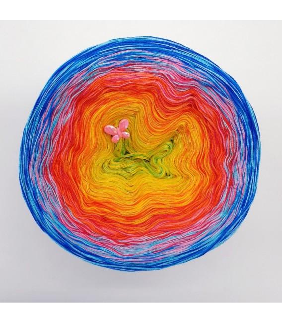 Flower Power Oase (Flower power oasis) - 4 ply gradient yarn - image 6