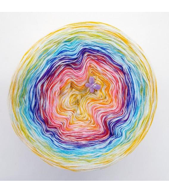 Hippie Lady - Sunny - 4 ply gradient yarn - image 2