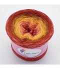 Hippie Lady - Scarlett - 4 ply gradient yarn