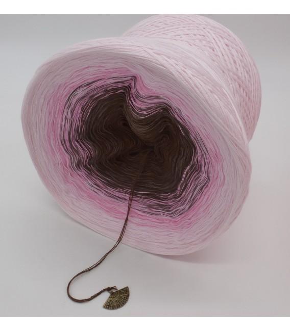 4 нитевидные градиента пряжи - Sugar Babe - пастельный розовый снаружи 4