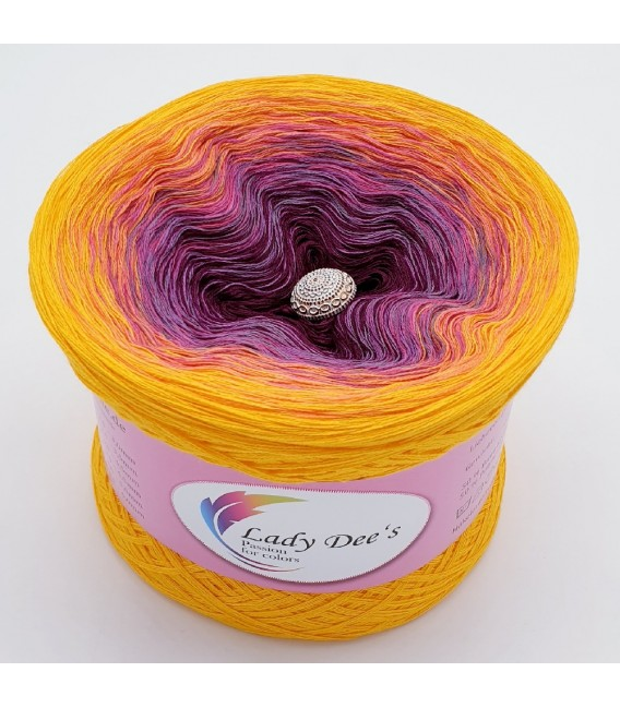 Oase im Sonnenuntergang (Oasis in the sunset) - 4 ply gradient yarn - image 2