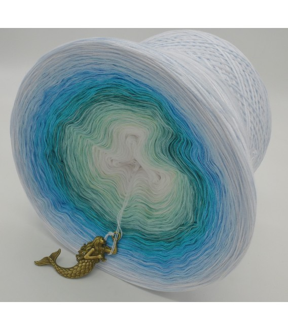 Meerjungfrau (Русалка) Мега Bobbel - 500г - 4 нитевидные градиента пряжи - Фото 2
