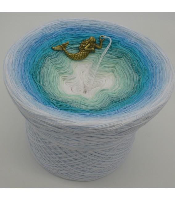 Meerjungfrau (Mermaid (sirène)) Mega Bobbel - 500g - 4 fils de gradient filamenteux - photo 1