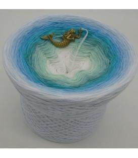 mega gradient yarn 4ply Meerjungfrau - 500g - 12 Colors