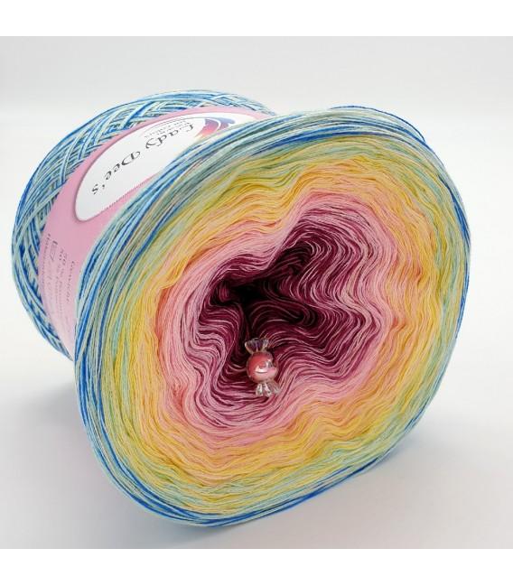 Oase der Märchenfeen (Oasis of fairy tale fairies) - 4 ply gradient yarn - image 4