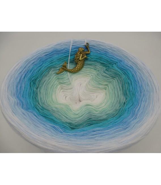Meerjungfrau (Русалка) Мега Bobbel - 500г - 4 нитевидные градиента пряжи - Фото 3