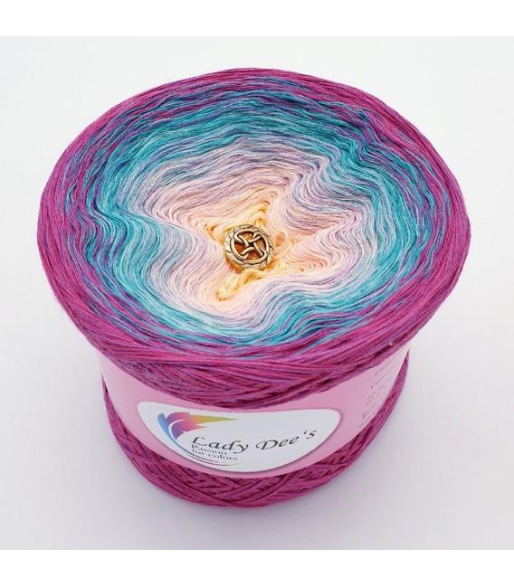 Oase der Meerjungfrauen (Oasis of Mermaids) - 4 ply gradient yarn - image 2