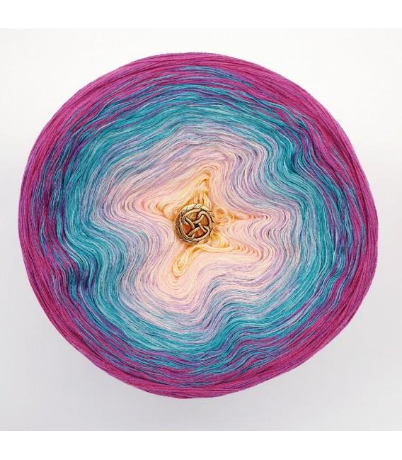 Oase der Meerjungfrauen (Oasis of Mermaids) - 4 ply gradient yarn - image 3