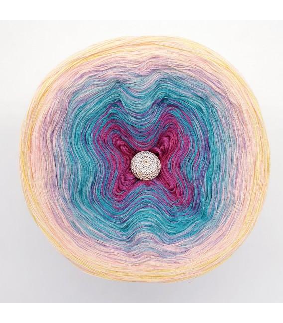 Oase der Meerjungfrauen (Oasis of Mermaids) - 4 ply gradient yarn - image 6