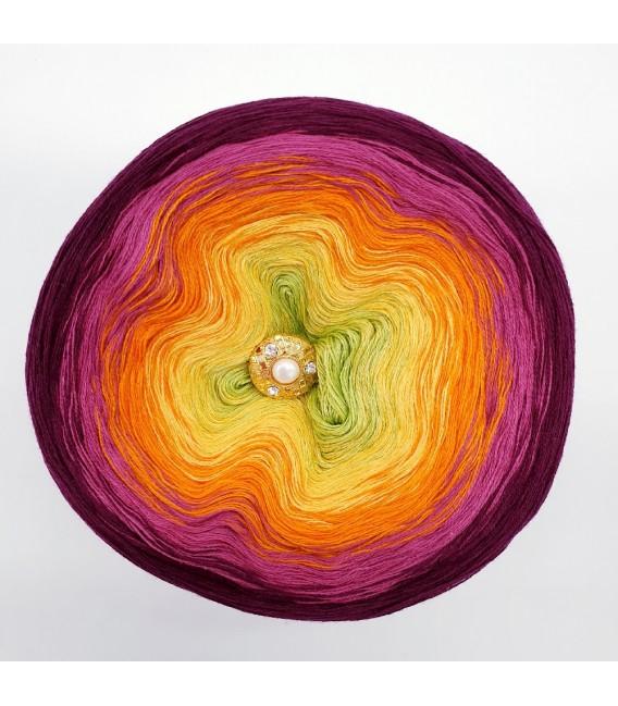 Oase in Bunt - Farbverlaufsgarn 3-fädig - Bild 6